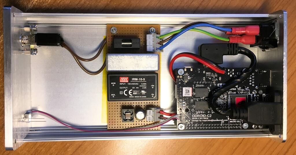 ODROID-C2 Power LED when Kodi is running? - Hardware