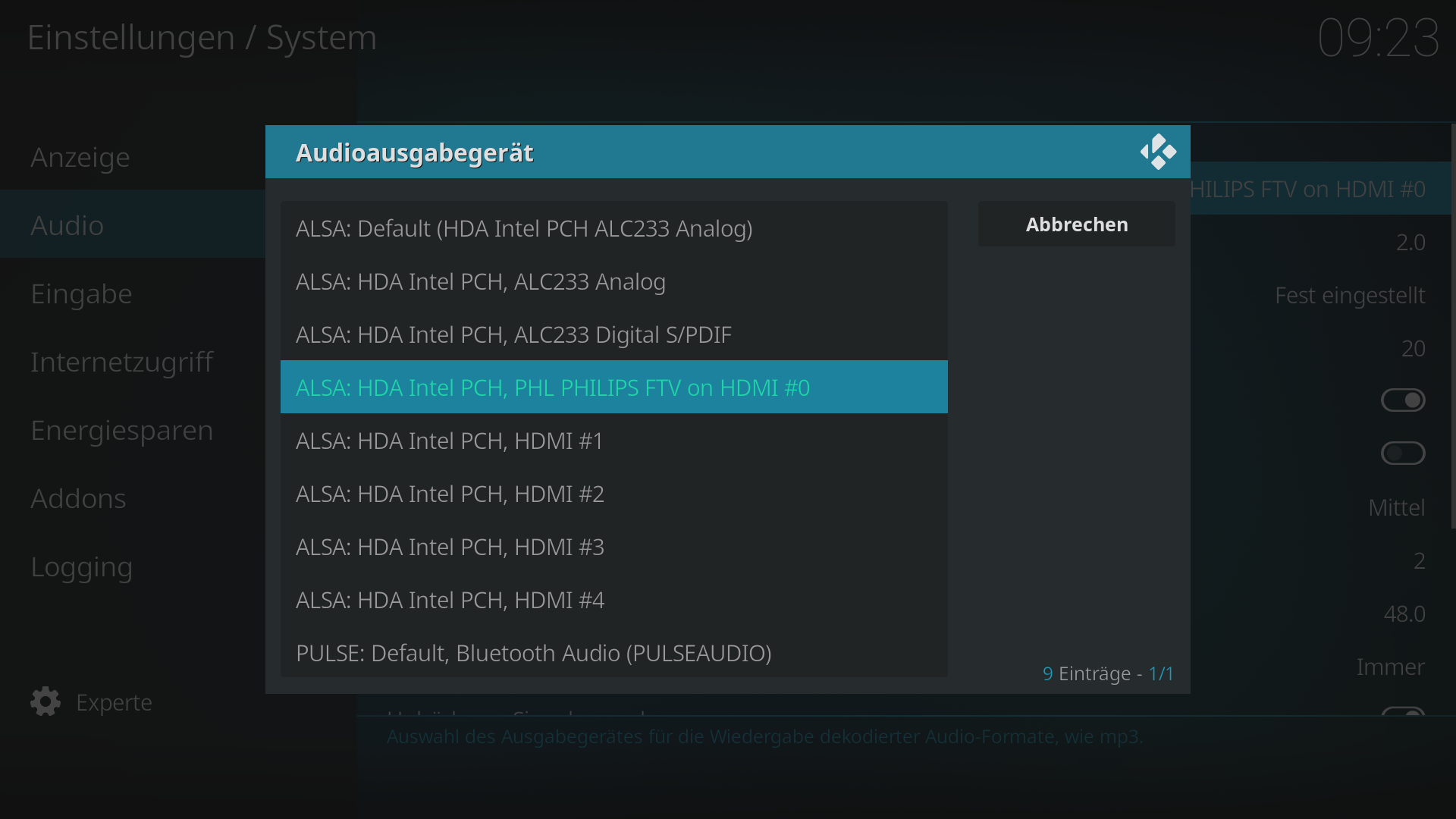 Change PCM format for HDMI output - General Support