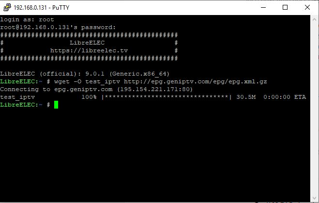 Playing M3U streams from URL - Bug Reports - LibreELEC Forum