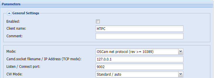Oscam, TVH SAT-IP Client , Descrambling only works if I