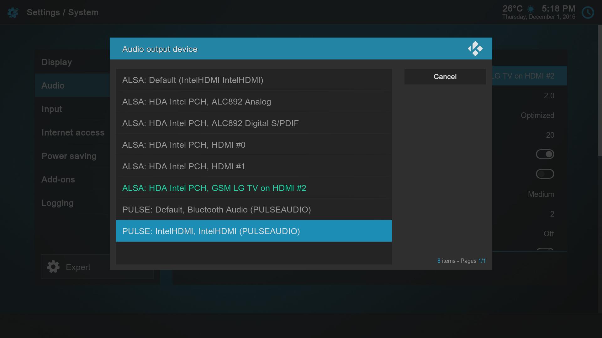 RetroELEC (Generic/RPi/XU4) Emulationstation/RetroArch/Kodi