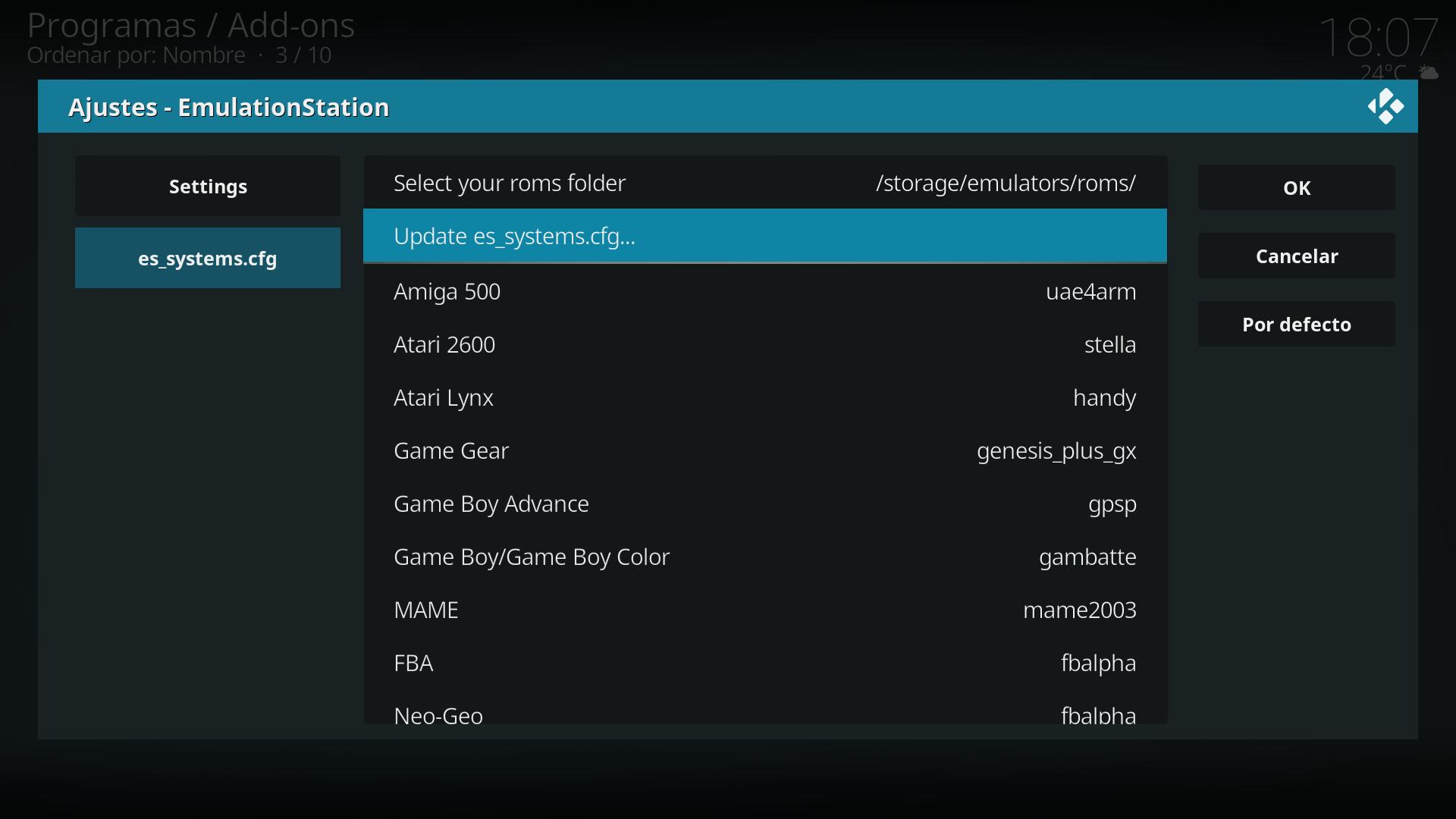 Gamestarter: Retrogaming add-ons (RPi/Generic) - Seite 27